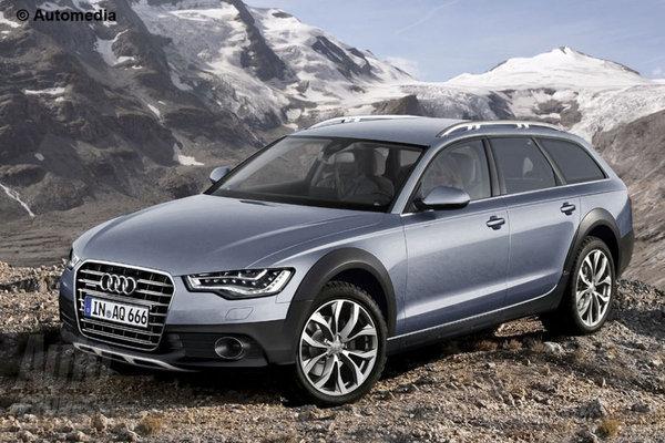 Новый Audi A6 Allroad: первый взгляд