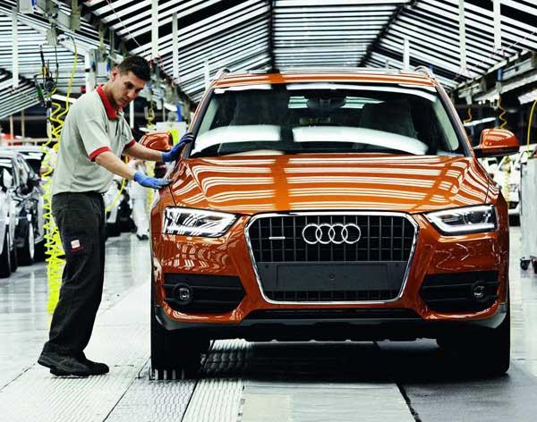 Audi начала выпуск Q3