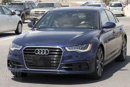 Новый Audi S6: первый взгляд