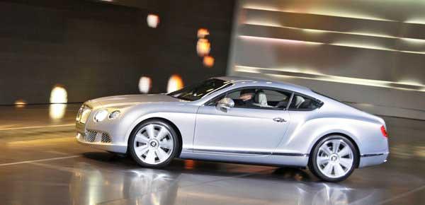 Bentley Continental GT стал ярче