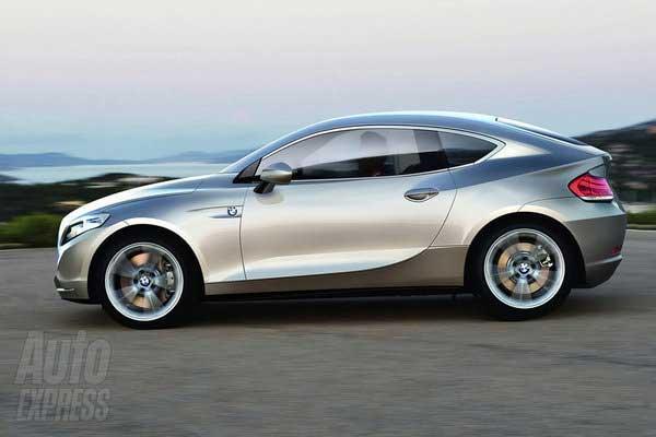BMW готовит электрическое купе