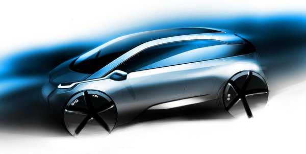 BMW Megacity – первый рисунок