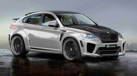 На BMW X6 поставили мотор V10