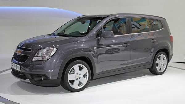 У Chevrolet появился компактвэн Orlando