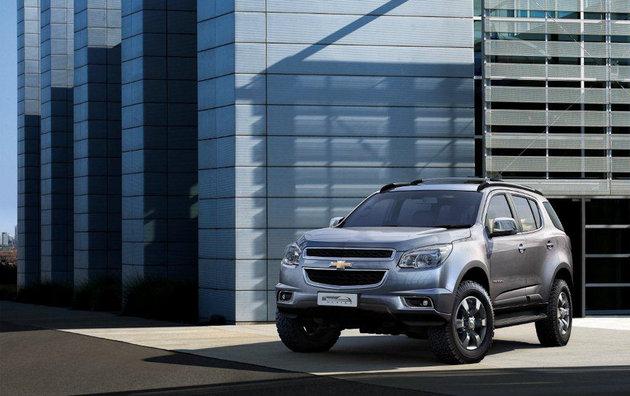 У Chevrolet появился новый Trailblazer