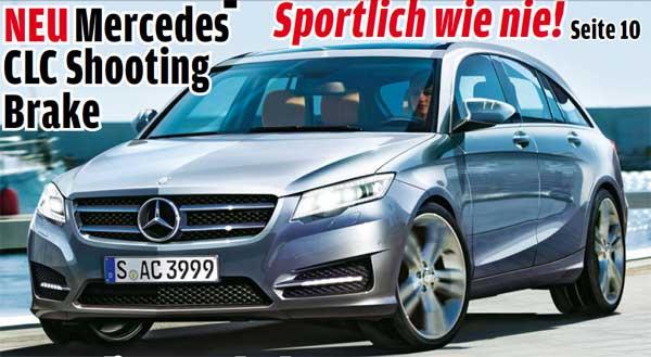 Mercedes работает над маленьким универсалом