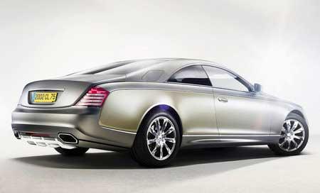 Представлен Maybach в кузове «купе»