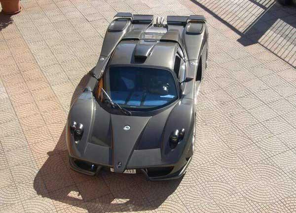 В Италии скрестили Ferrari и Pagani