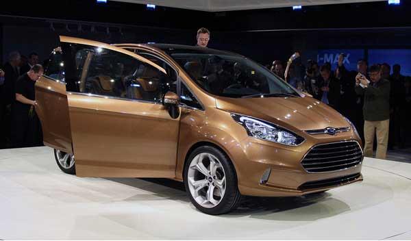 Ford B-Max. Первый сюрприз автосалона в Женеве