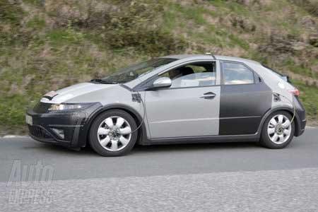 Новая Honda Civic. Начались первые тесты