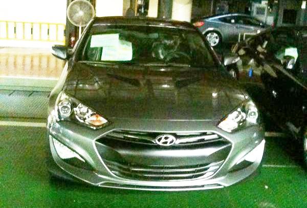 Новый дизайн Hyundai Genesis Coupe. Первые ФОТО