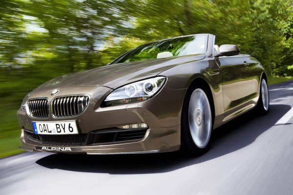 Сделан самый мощный кабриолет BMW 6-й серии
