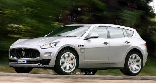 Кроссовер Maserati становится все ближе