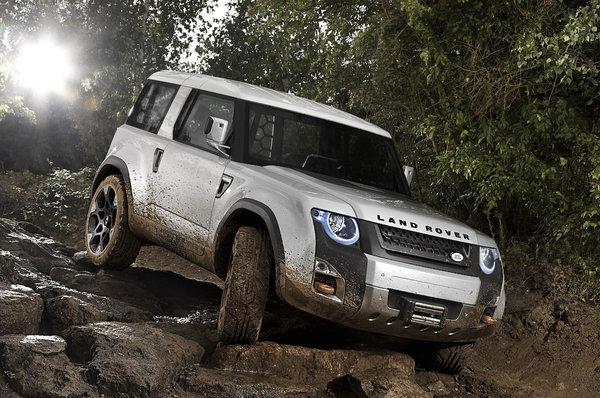 Land Rover впервые показал новый Defender