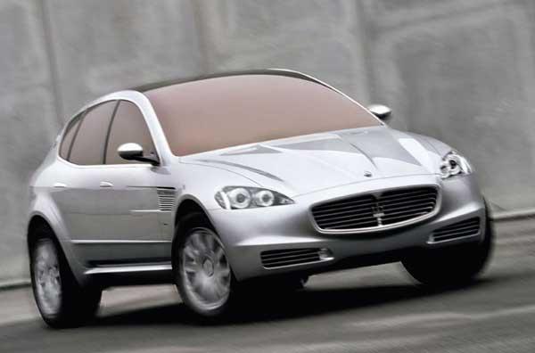 Maserati готовит кроссовер
