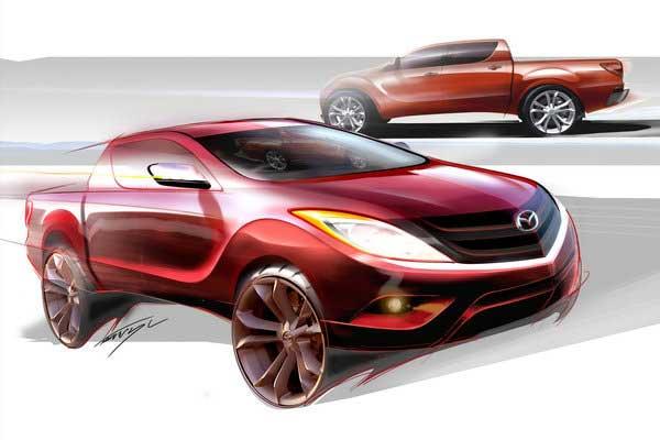 Mazda BT-50. Скоро новое поколение