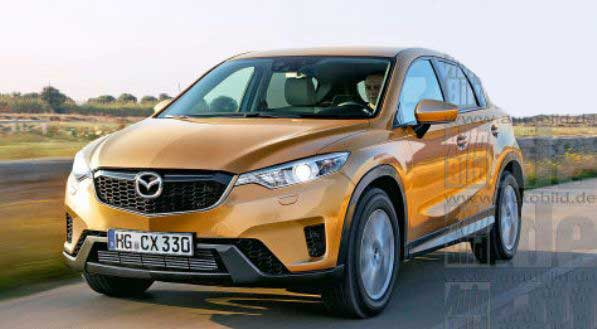 Новый кроссовер Mazda: свежая информация