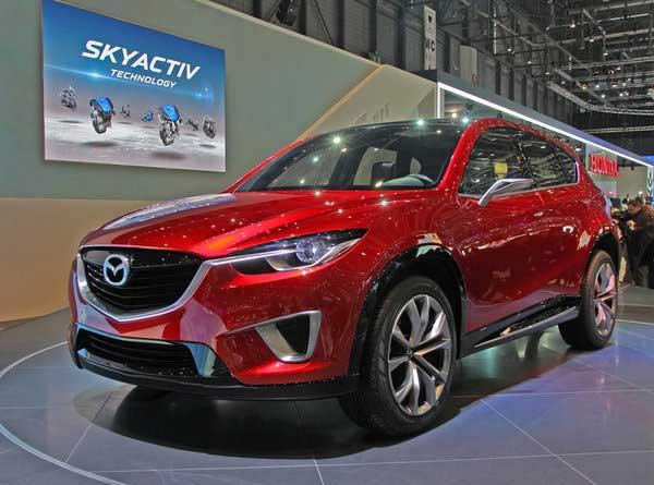 Mazda привезла в Женеву компактный кроссовер