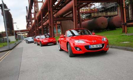 Mazda MX-5 – снова рекорд Книги Гиннесса!