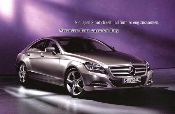 Новый Mercedes-Benz CLS: почти официальные Фото