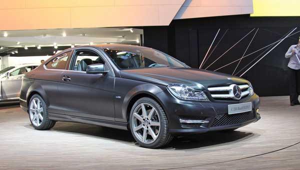 Mercedes показал долгожданное купе