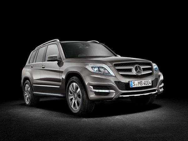 Mercedes GLK прошел рестайлинг