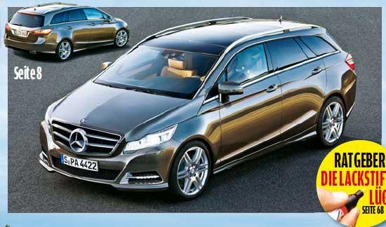 Mercedes. Сразу две новые модели