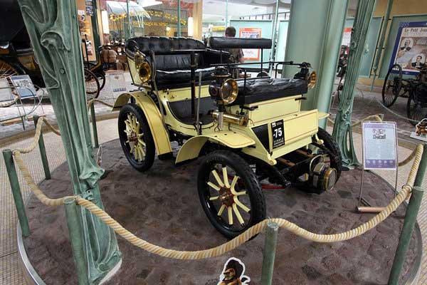 Музей Peugeot – от бисиклетов до иона