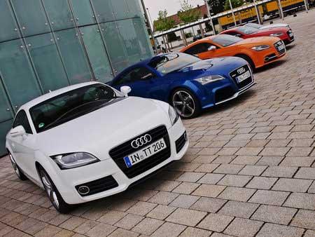 В продаже появился обновленный Audi TT