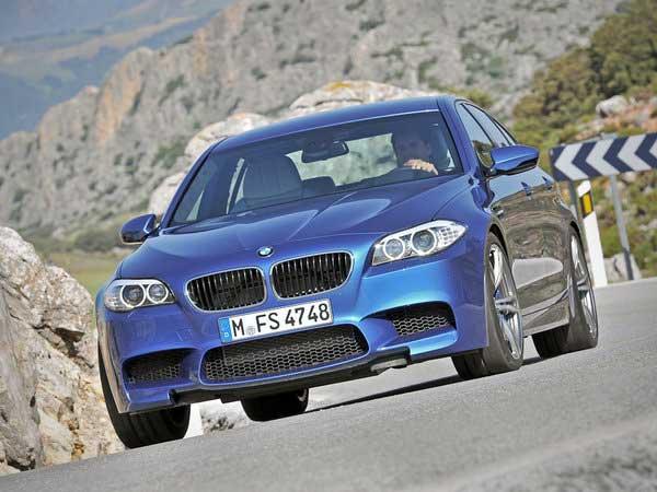 Серийная BMW M5. Первые ФОТО