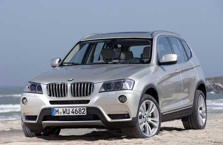 Вышел в свет новый BMW X3