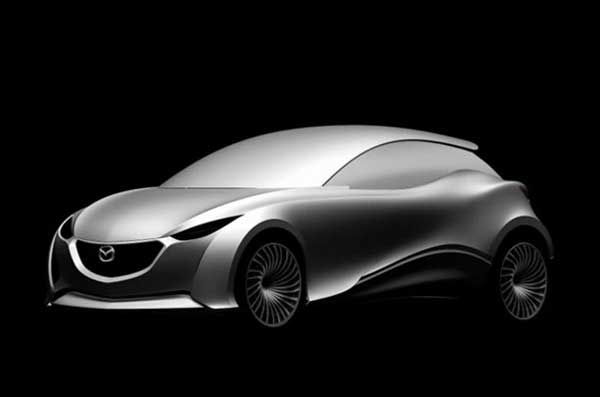Новая Mazda3. Первый эскиз