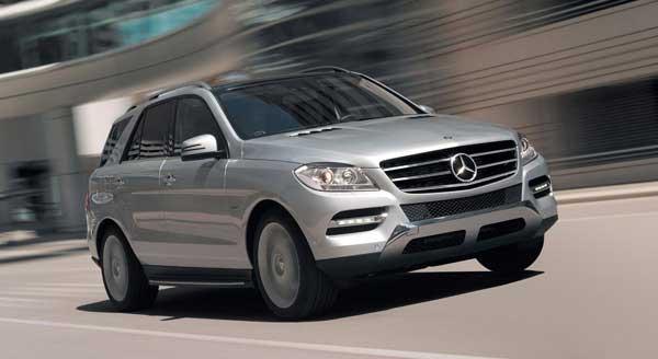 Новый Mercedes M-класса. Официальные ФОТО