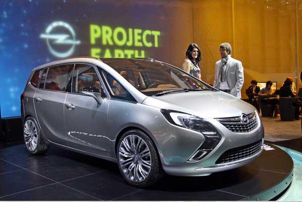 Новая Opel Zafira