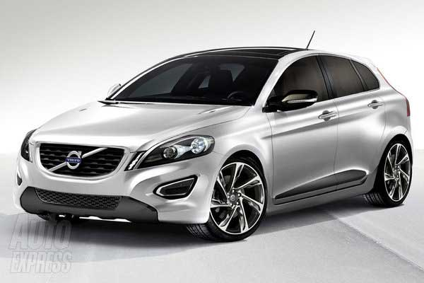 Новый Volvo C30. Новые ФОТО