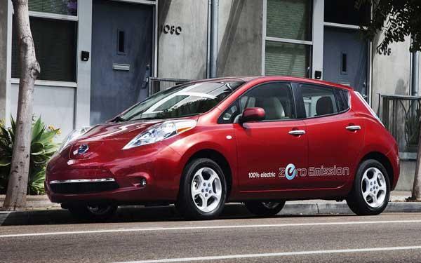 Nissan начал делать электромобили