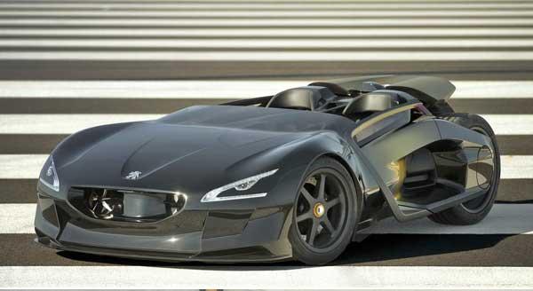 Peugeot EX1: потрясающий концепт