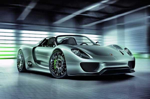 Porsche запускает супергибрид в серию!