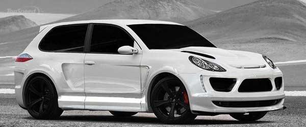 Porsche Cayenne превратили в купе