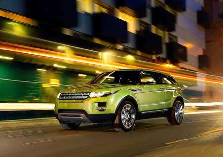 Range Rover Evoque запущен в производство
