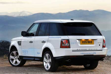 Panamera и Range Rover стали гибридами