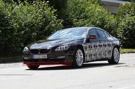 Седан BMW 6-й серии уже почти готов