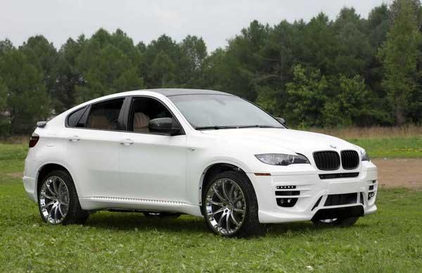 Москвичи прокачали BMW X6