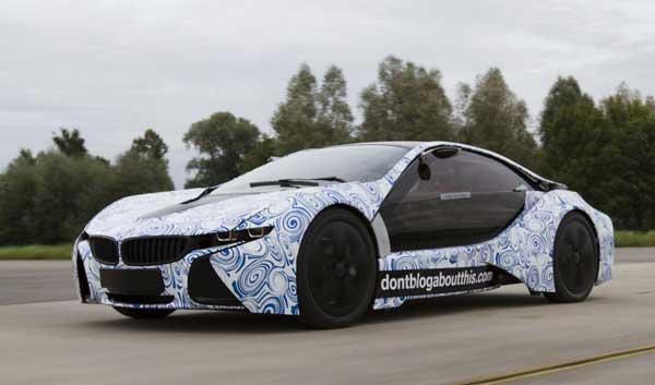 «Чистый» суперкар от BMW появится в 2013 году