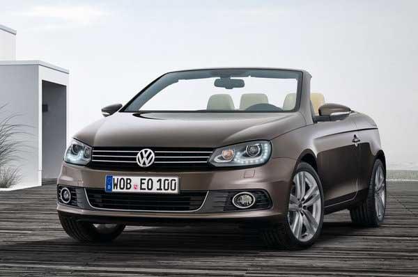 Volkswagen обновил Eos