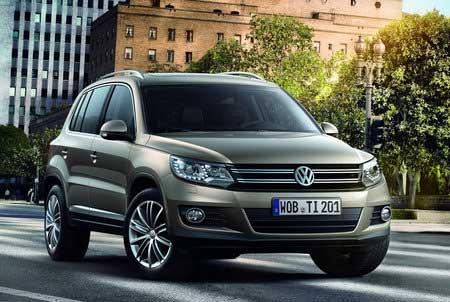 Volkswagen Tiguan прошел рестайлинг