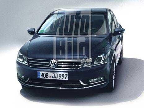 Новый VW Passat. Первое ФОТО