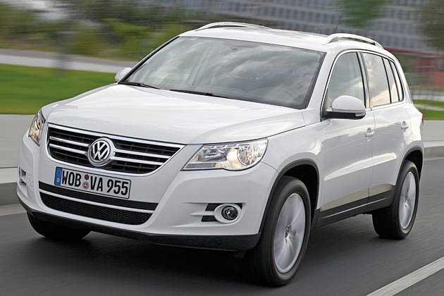 Обновление VW Tiguan 2011: новые моторы и DSG