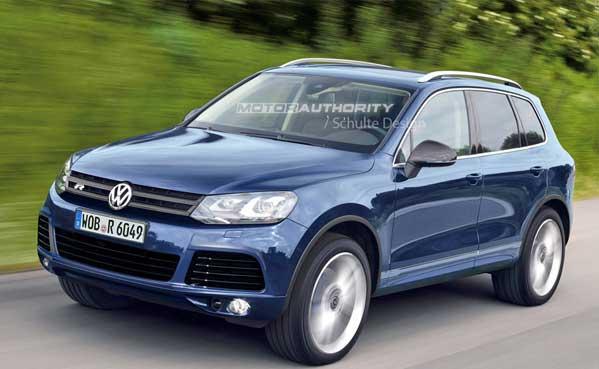 VW Touareg R окажется гибридом